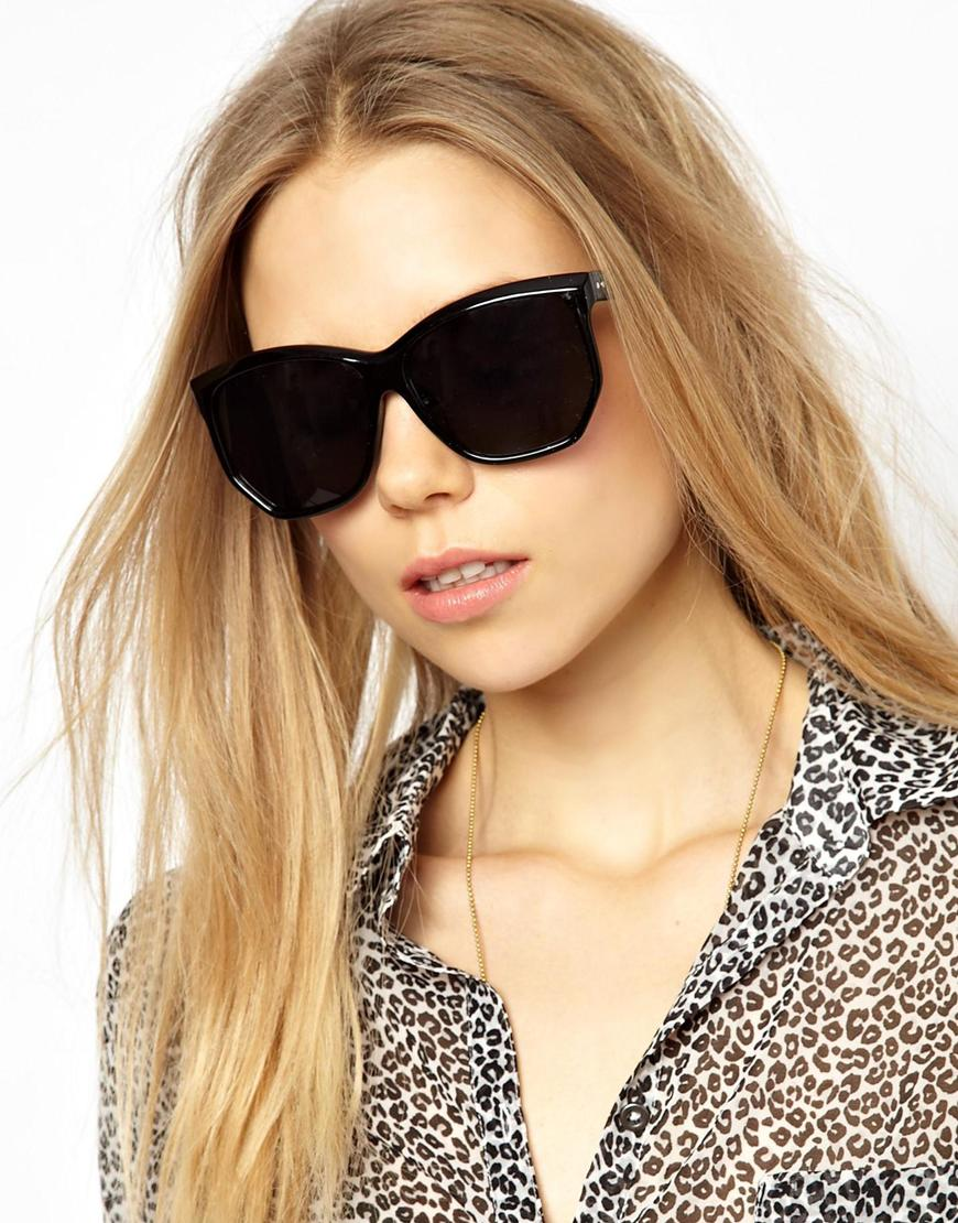 e09f1403e49 Asos Aj Morgan Bodacious Sunglasses in Black - Lyst