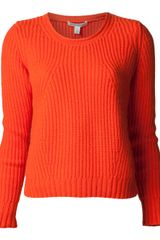Autumn Cashmere Cashmere Shaker Stitch Sweater - Lyst