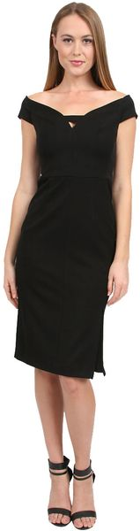 Black Halo Riya Sheath Dress - Lyst