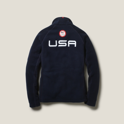 Ralph lauren blue label Team Usa Fleece Jacket in Blue | Lyst