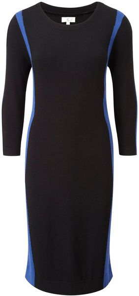 Cc Colourblock Knitted Dress - Lyst