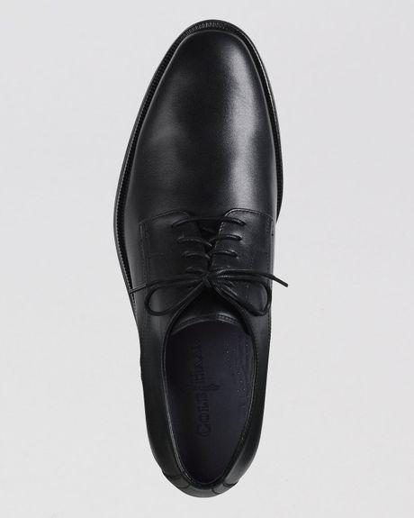 Cole Haan Plain Toe Oxford Leather Plain Toe Oxfords