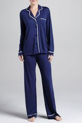 Cosabella Bella Satinpiped Pajamas - Lyst