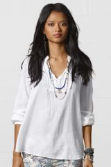 Denim & Supply Boho Cotton Tunic - Lyst