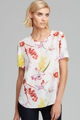 Equipment Tee Riley Endangered Floral Print Silk - Lyst