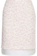 Giambattista Valli Tweed and Organza Skirt - Lyst