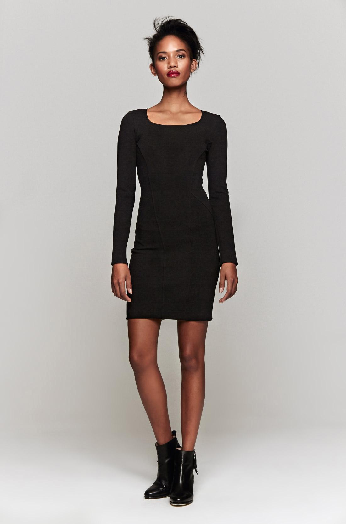 Helmut Gala Knit Dress in Black  Lyst