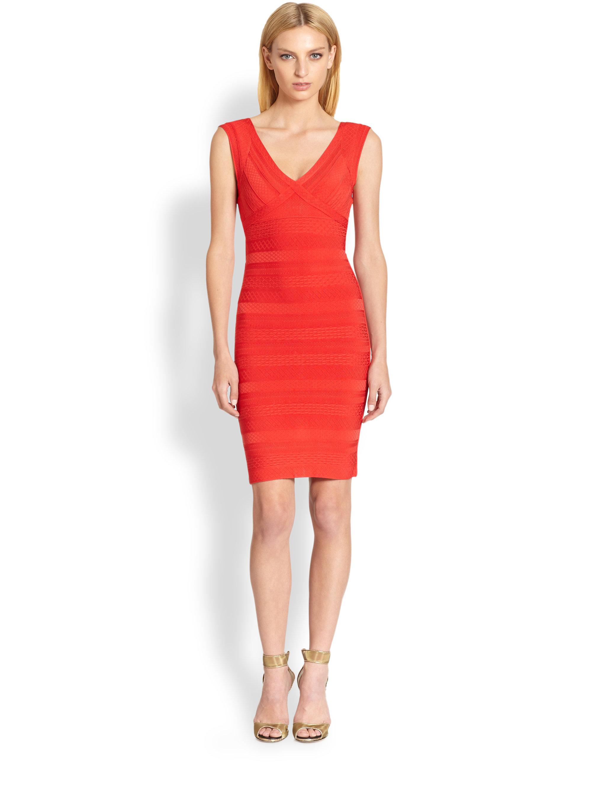 Galerry sheath dress coral