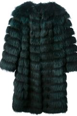 Ita Kli Raccoon Fur Coat - Lyst