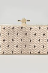 Jason Wu Karlie Point Desprit Box Clutch - Lyst