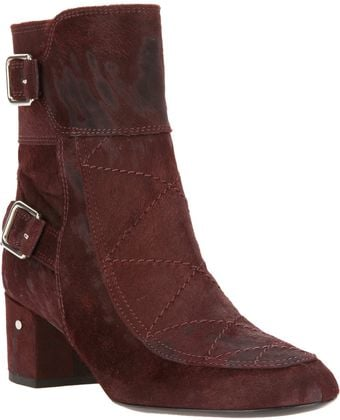Laurence Dacade Stitch Detail Ankle Boot - Lyst