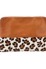 Lizzie Fortunato Jewels Safari Clutch - Lyst