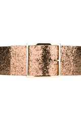 Maison Boinet Wide Glittered Belt - Lyst
