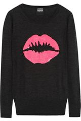 Markus Lupfer Smacker Sequined Merino Wool Sweater - Lyst