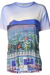 Mary Katrantzou Nature Print T-Shirt - Lyst