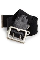 McQ by Alexander McQueen Canvas Metaltip Belt - Lyst