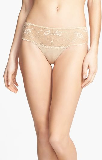 Natori Bliss Bloom Thong - Lyst