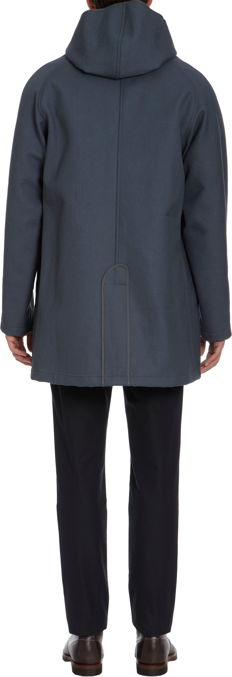 Nigel Cabourn Bench Coat In Gray For Men Lyst