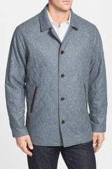 Peter Millar Brescia Quilted Wool Coat - Lyst