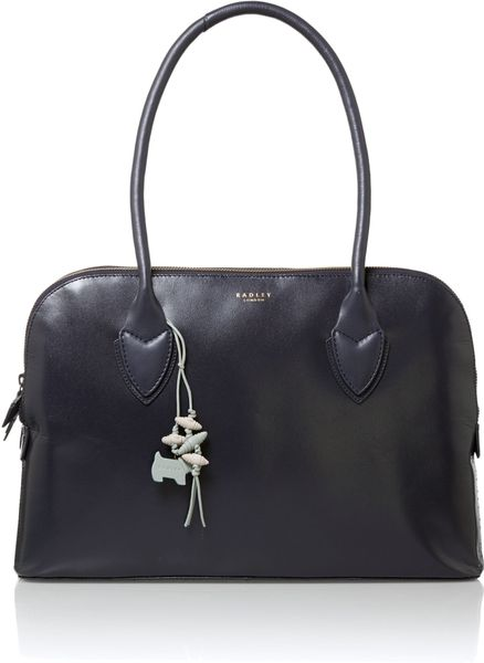 Radley Aldgate Fig Navy Large Tote Bag in Blue (Navy)