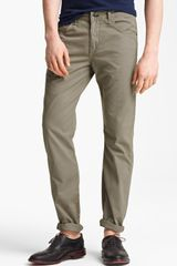 Rag & Bone Rb15x Slim Straight Leg Pants - Lyst