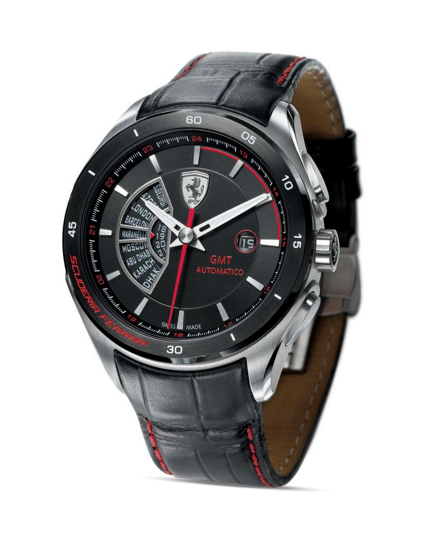 Scuderia ferrari Gran Premio Watch 45mm in Black for Men ...
