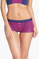 Splendid Pattern Boyshorts - Lyst