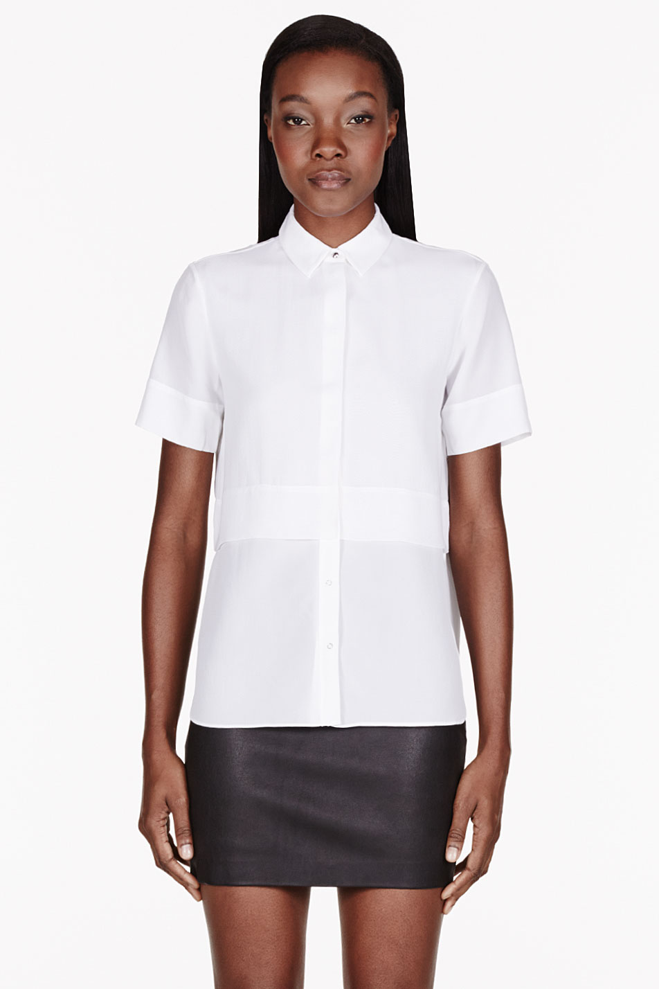 Shop UNIQLO for a wide variety of women's casual shirts, blouses and work shirts. Shop from women's button down shirts, women's denim shirts, women's linen shirts, women's oxford shirts, and silky blouses. Choose from short sleeve blouses, 3/4 length sleeve blouses and long sleeve women's shirts. UNIQLO .