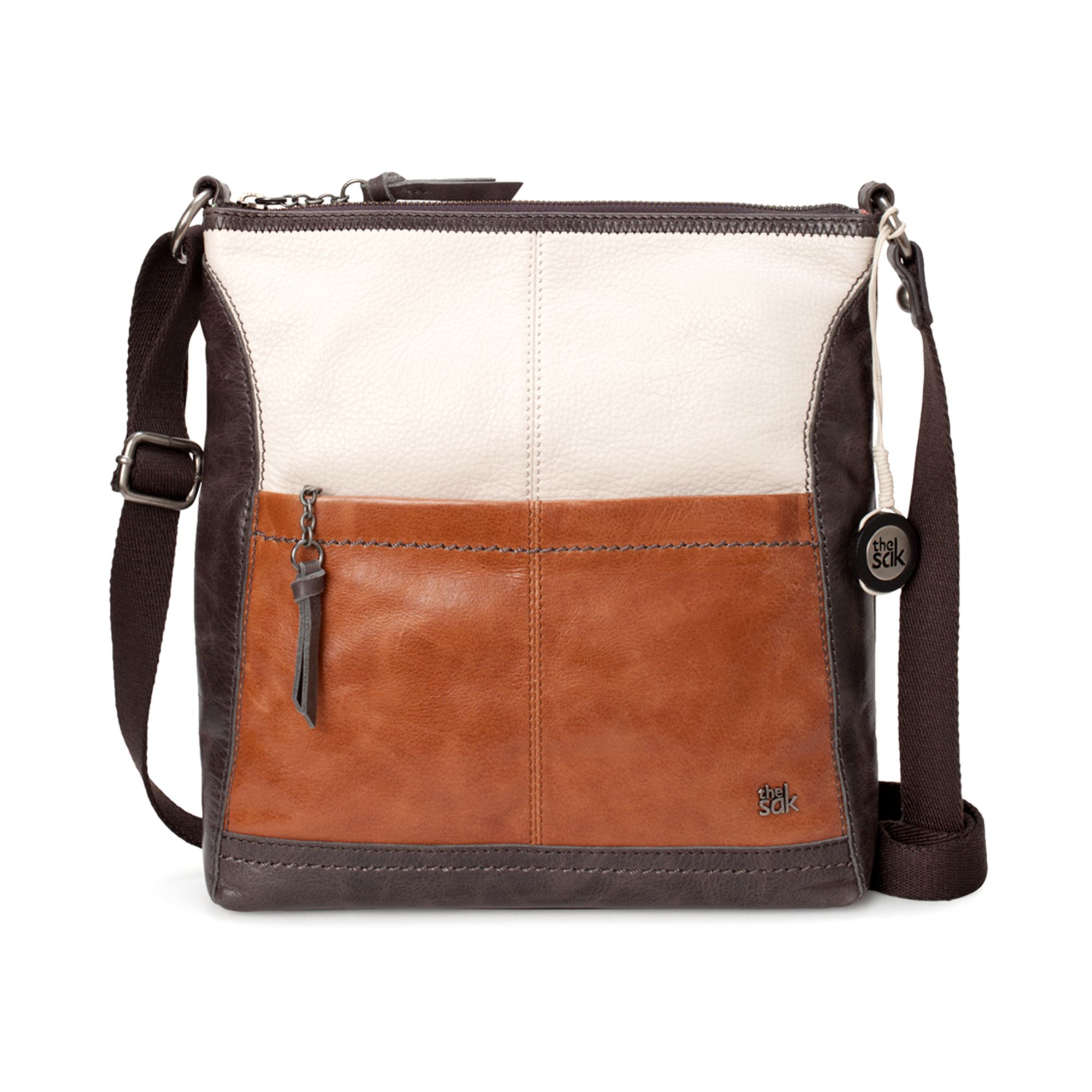 1c5fbe88ff Lyst - The Sak Iris Leather Crossbody Bag in Brown