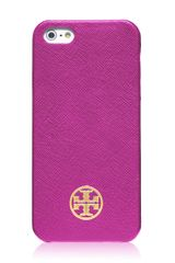 Tory Burch Robinson Saffiano Hardshell Case For Iphone 5 - Lyst