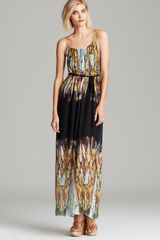 Twelfth Street by Cynthia Vincent Maxi Dress Chainmail Silk - Lyst