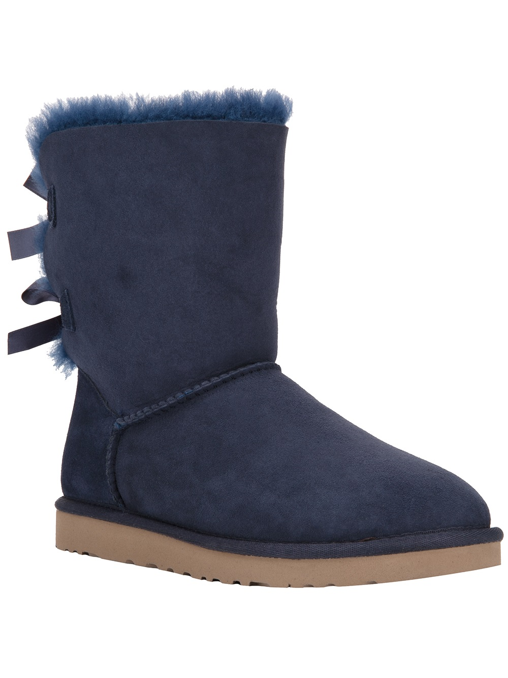 Ugg Bailey Bow Boot In Blue Lyst