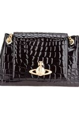 Vivienne Westwood Apollo Moc Croc Shoulder Bag - Lyst