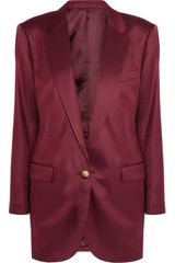 Acne Seymour Wool Blend Twill Blazer - Lyst