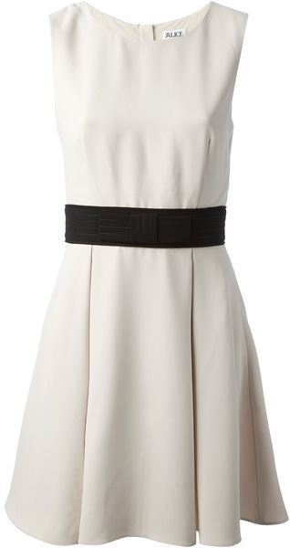 Alice By Temperley Mini Obi Dress - Lyst