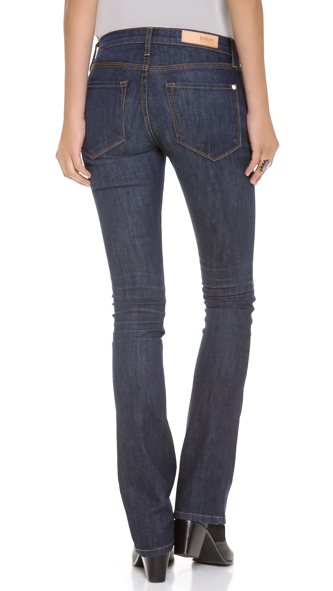 Baldwin denim The Rose Modern Boot Cut Jeans Missouri in Blue | Lyst
