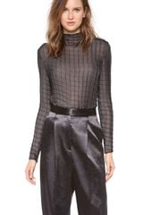 Calvin Klein Samad Long Sleeve Top - Lyst