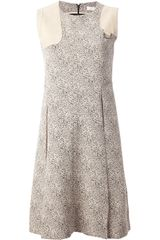 Chloé Paneled Sleeveless Dress - Lyst