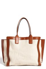 Chloé Alison Leather Tote - Lyst
