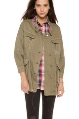 Current/Elliott The Military Parka - Lyst