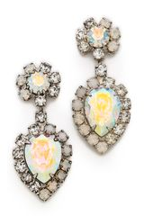 Dannijo Mirabella Earrings - Lyst
