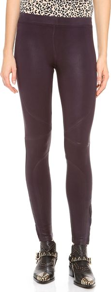 David Lerner New Seamed Leggings - Lyst