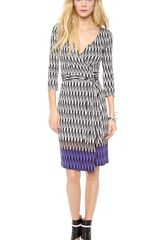 Diane Von Furstenberg New Julian Two Wrap Dress - Lyst