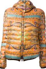 Etro Padded Jacket - Lyst