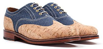 Grenson The Noah Wing Cap Oxford - Lyst