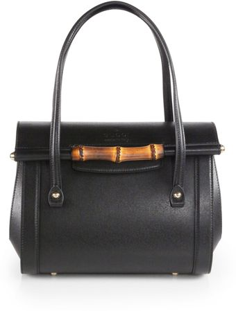 Gucci New Bullet Leather Top Handle Bag - Lyst