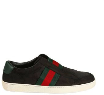 Gucci Shoes Tennis Brooklyn Slip On Web - Lyst