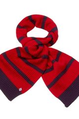 Henri Lloyd Allie Knitted Scarf - Lyst