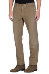 Incotex Red Casual Trouser - Lyst