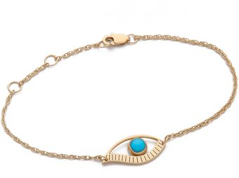 Jennifer Zeuner Jewelry Priscilla Mini Eye Bracelet - Lyst